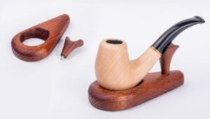 Dr Watson - Wooden Pipe Stand