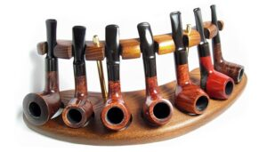 New WoNEW Wooden Pipe Stand