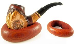 New Wooden Pipe Stand